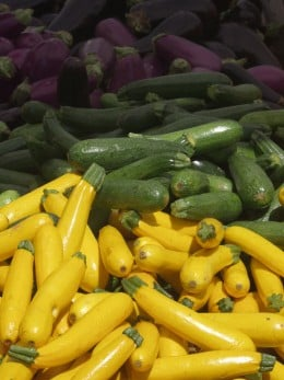 Summer squash is a great grilling vegetable.