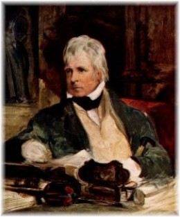Sir Walter Scott said something about webs and deception or something.