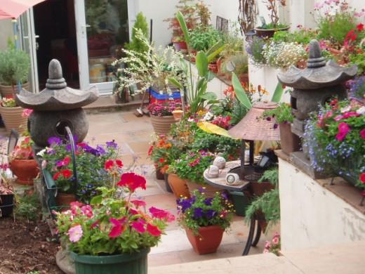 5424803 Small nice garden