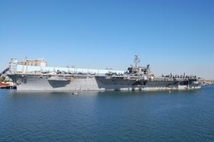Aircraft carriers were essential to the U.S. offensive during the Gulf War conflicts against Saddam Hussein.