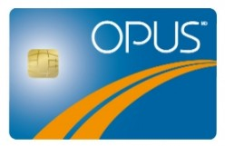 Montreal Public Transit - Opus Card and how to use it