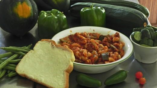 Eggplant Zucchini Goulash