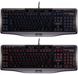 Logitech-Gaming-Keyboard-G110-red-blue-backlighting