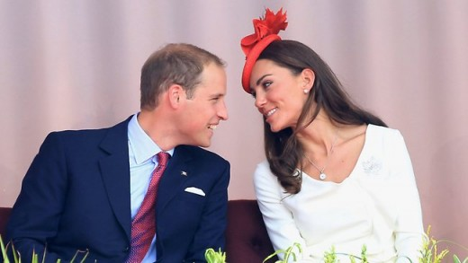 The Duke and Duchess at the Parliament Hill Canada Day celebrations