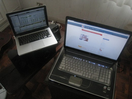 HP HDX 18t and Macbook Pro 13 inch i5