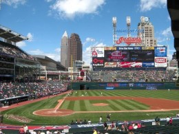 Cleveland Indians. Progressive Field, Home of the Indians