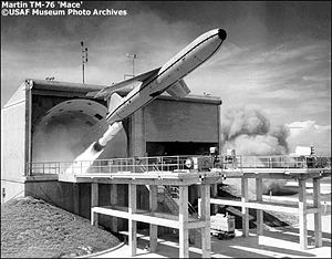 CGM-13 Mace test launch at Cape Canaveral in the early 60's