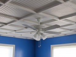 Beach Cottage Bedroom - (the ceiling) Part 1