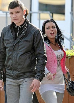however whitney is frightened when she realises that Rob has followed her to Southend