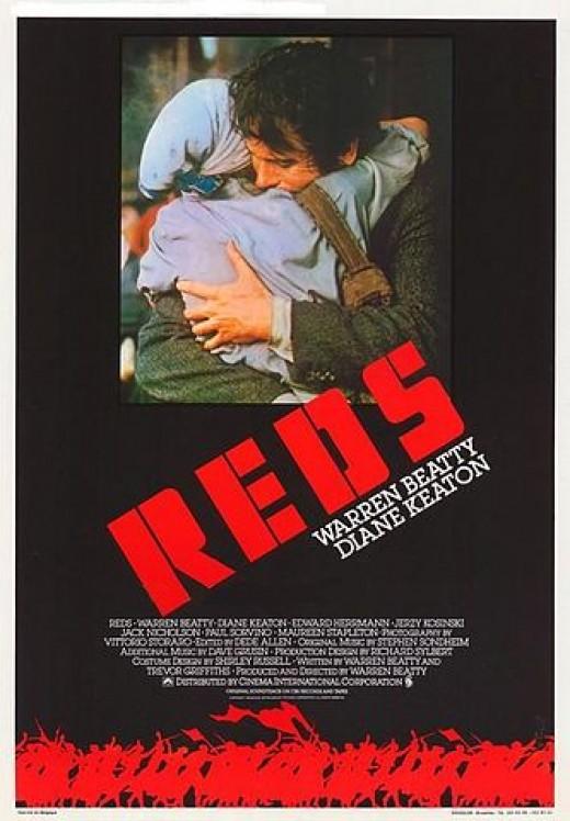 """Reds"" Movie Poster"