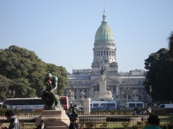 Argentinian Congress building in Buenos Aires, Argentina