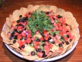 Quick and Easy Mexican 7 Layer Dip