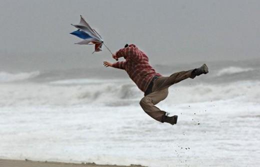 Hurricane force winds are no joke!