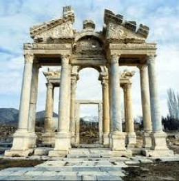 Turkey?  yes. but the building looks very Roman.   Even empires which last a thousand years come to an end.