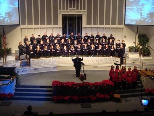 "FBCGP's presentation of ""Hallelujah! Light Has Come!"