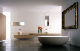 Cleanliness of bathtub and sink guarantee that they will serve you for a long time