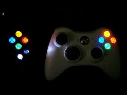 Controller Face LEDs