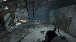 Entering Test Chamber 07.