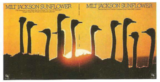 Full cover(front and back) of Milt Jackson's 1973 CTI release 'Sunflower'.