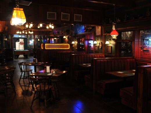 Merlotte's Bar Theme Idea