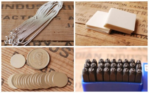 Supplies To Make Hand Stamped Metal Jewelry | hubpages