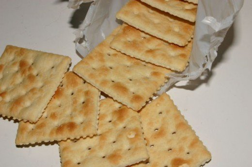 Soda crackers make a surprisingly tasty ingredient in many baked goods.