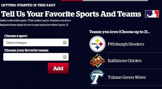 These teams will become the object of my affection. Don't ask why.