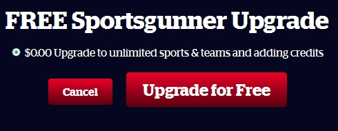 Getting something for nothing: a free upgrade to play with unlimited teams.