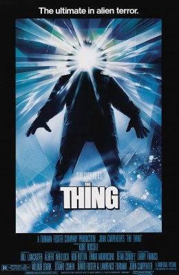 The Thing (1982) art by Drew Struzan