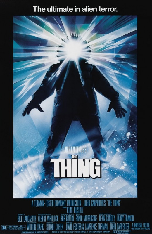 The Thing (1982) art by Drew Struzan