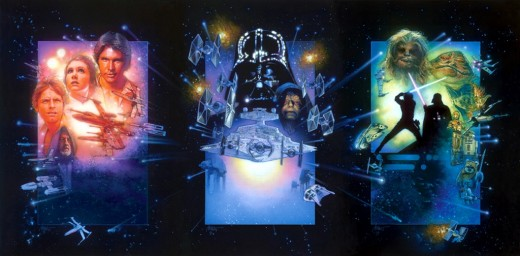 Star Wars Special Editions art by Drew Struzan