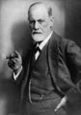 Sigmund Freud, approx. 1920