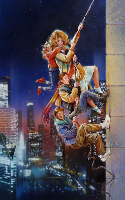 Adventures in Babysitting (1987) art by Drew Struzan