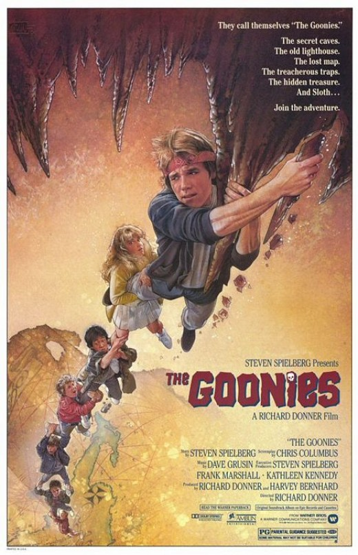 The Goonies (1985) art by Drew Struzan