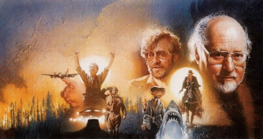The Spielberg / Williams Collaboration CD art by Drew Struzan