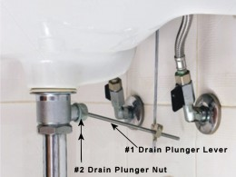 Under sink Piping