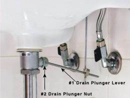 Plunger-Stopper lever