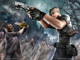 This first person shooter puts you behind the gun of agent Leon as he tries to bring down the evil zombie cult that has taken control of an entire farm and village community