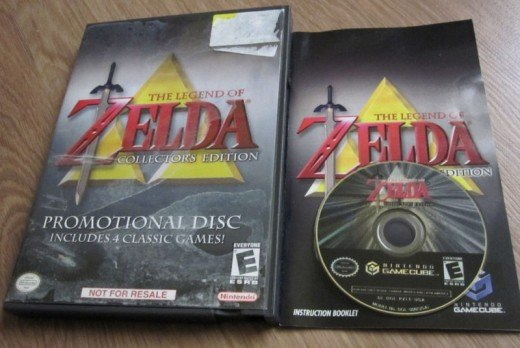 This collector's edition, although rare, gives the gamer a chance to experience the most successful and entertaining releases of the Zelda series