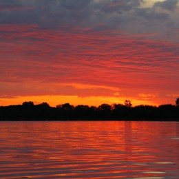 Taken at The Point at Harmony Park, Clarks Grove, Minnesota. A BEAUTIFUL Sunrise.