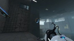 "The ""connection point"" with the secret room for the Final Transmission achievement seen to the top left."