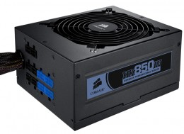 Corsair HX Professional Series 850-Watt 80 Plus Certified Power Supply Compatible with Core i7 and Core i5 - CMPSU-850HX
