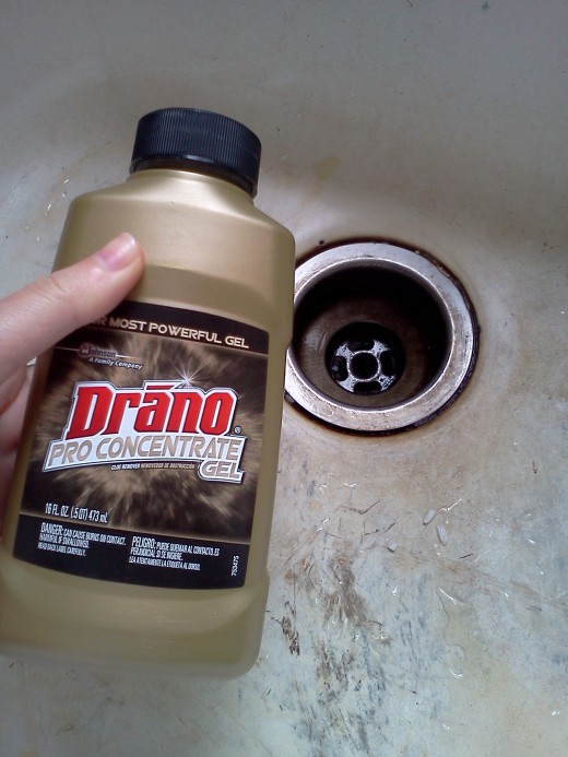 Step 4: Wait for Drano to work.  Thanks Drano!