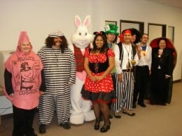 Halloween 2008 (I'm the woopie cushion)