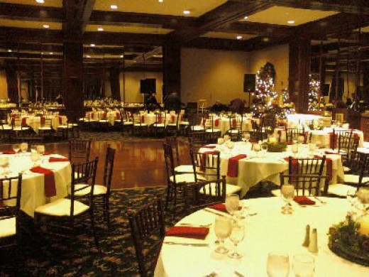 Holiday party 2010. It was at the Library Galleria