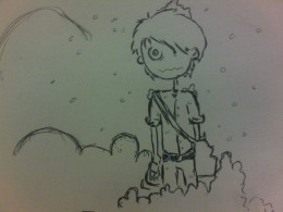 at work doodle