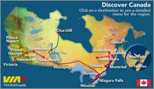 Travelling By Train In Canada Hubpages
