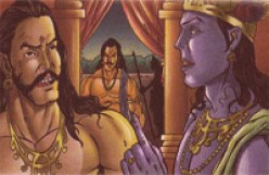 Duryodhana speaks out to Krishna