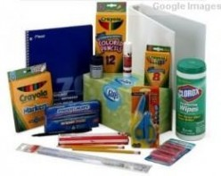 School Supplies for the Elementary Student