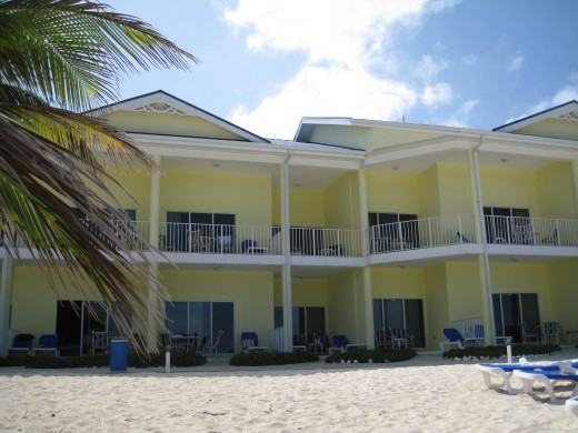 Accommodation at the Reef Resort, Grand Cayman